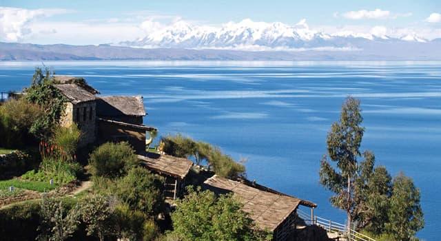 Geografia Pytanie-Ciekawostka: Które jest największym jeziorem w Ameryce Południowej?