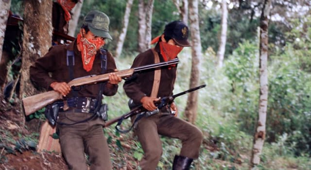 historia Pytanie-Ciekawostka: Rząd jakiego kraju podpisał porozumienie pokojowe z powstańcami Chiapas w 1994 roku?