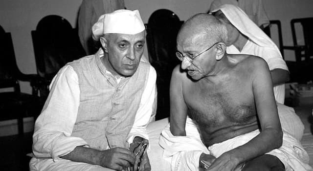 Geschichte Wissensfrage: Wer war die einzige Tochter von Jawaharlal Nehru?
