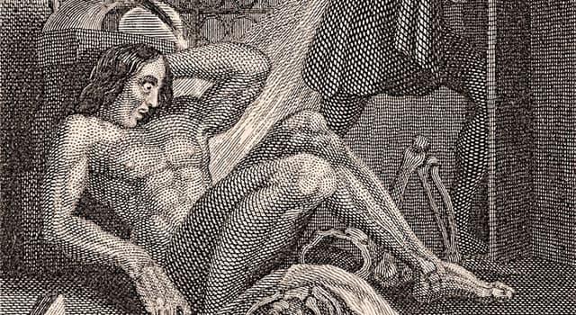 """Kultur Wissensfrage: Von wem wurde der Roman """"Frankenstein"""" geschrieben?"""