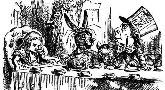 """Kultura Pytanie-Ciekawostka: Kto napisał powieść """"Alicja w krainie czarów""""?"""