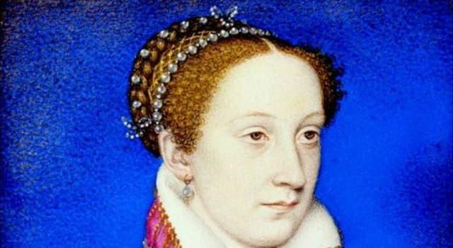 Historia Pregunta Trivia: ¿ A qué edad fue proclamada María Estuardo reina de Escocia?