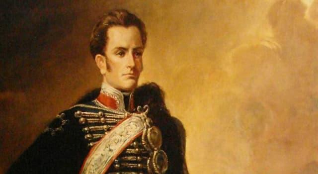 Historia Pregunta Trivia: ¿A qué personaje de la historia de Chile pertenece está imagen?