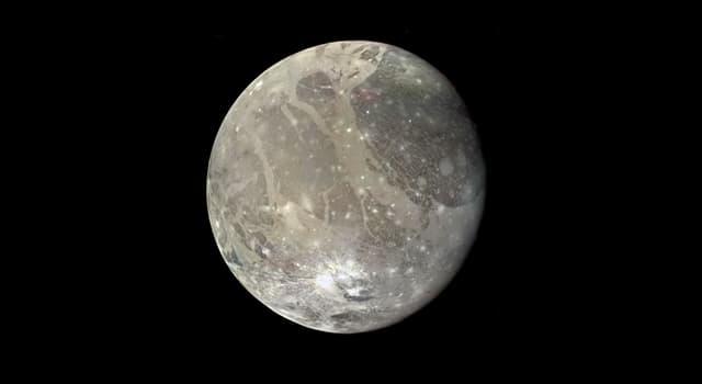 Сiencia Pregunta Trivia: ¿Cómo se llama el satélite más grande del Sistema Solar?