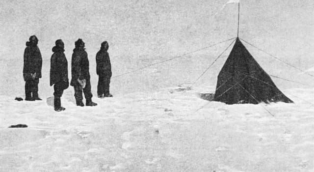 Historia Pregunta Trivia: ¿Quién fue el explorador que, en 1934, permaneció solo todo el invierno en una base de la Antártida?