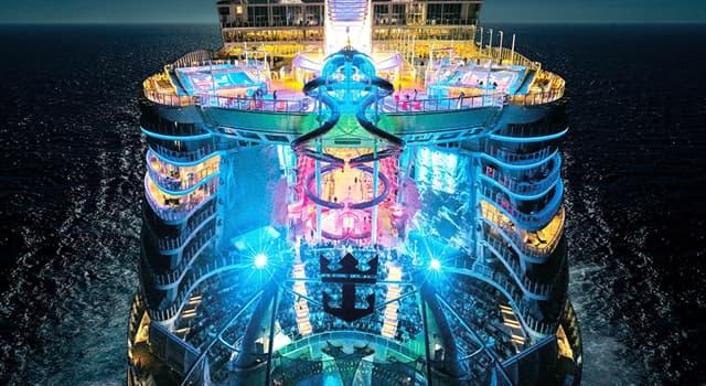 Sociedad Pregunta Trivia: ¿Cuál es el crucero de pasajeros más grande del mundo en la actualidad?