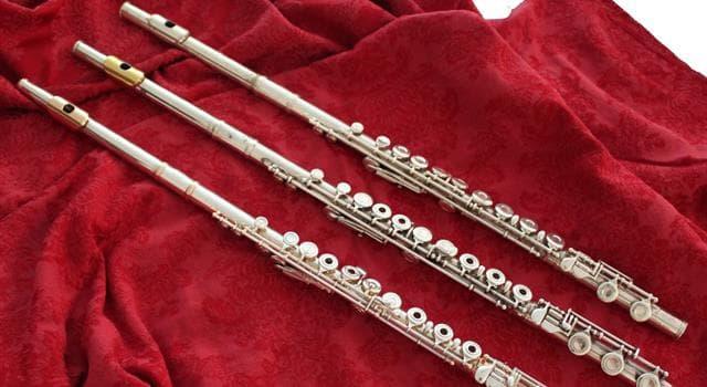 Cultura Pregunta Trivia: ¿Cuál es el miembro más pequeño de la familia de la flauta?