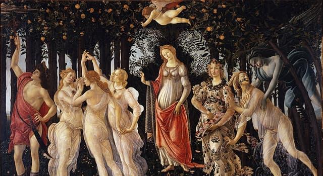 Cultura Pregunta Trivia: ¿Cuál es el nombre de esta famosa obra de Botticelli?