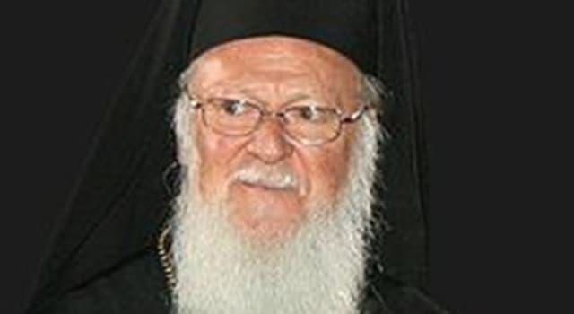 Cultura Pregunta Trivia: ¿Cuál es el nombre del actual Patriarca de Constantinopla?