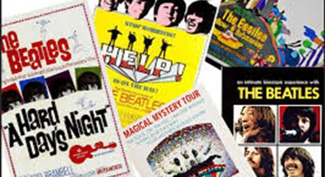 Películas Pregunta Trivia: ¿Cuál fue la única película animada interpretada por «The Beatles»?