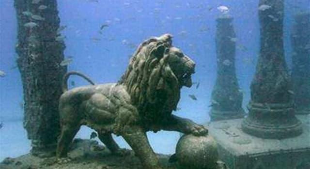 Historia Pregunta Trivia: ¿Dónde se ubicaba la ciudad hundida conocida como La Atlántida?
