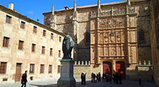 Cultura Pregunta Trivia: ¿En cuál de estas ciudades se encuentra funcionando  la universidad  más antigua del mundo hispánico?