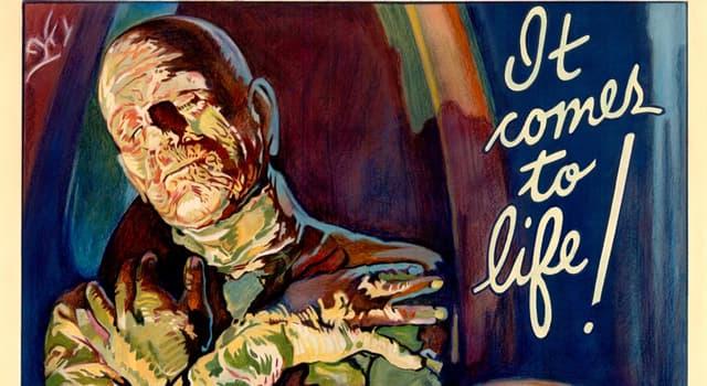 """Películas Pregunta Trivia: ¿En qué año se estrenó la primera película llamada """"La momia"""" (The Mummy)?"""