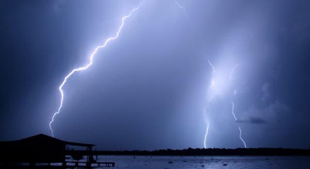Naturaleza Pregunta Trivia: ¿En qué lugar del mundo caen más rayos por año?