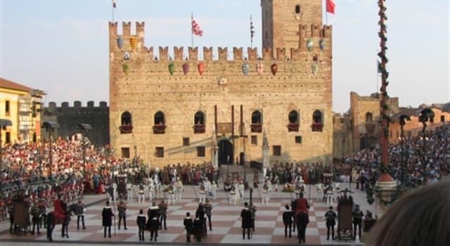 Geografía Pregunta Trivia: ¿En qué país se encuentra la Plaza de Marostica, famosa por su ajedrez humano?