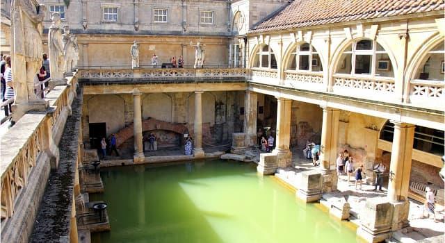 Cultura Pregunta Trivia: ¿En qué país se encuentran las termas romanas de Bath?