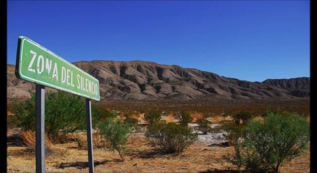 Geografía Pregunta Trivia: ¿Entre qué estados de la República Mexicana se localiza la zona del silencio?