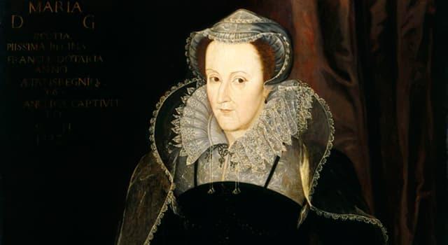 Geschichte Wissensfrage: Wie alt war Maria Stuart, als sie Königin von Schottland wurde?