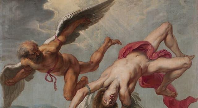 historia Pytanie-Ciekawostka: W mitologii greckiej, kto był ojcem Ikara?
