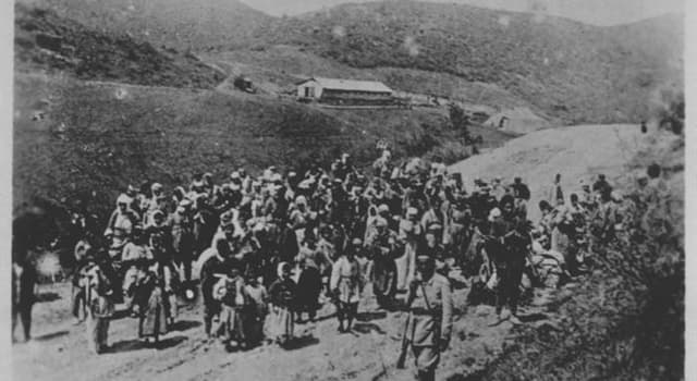 Geschichte Wissensfrage: In welchem Land fand der Sason-Aufstand von 1904 statt?