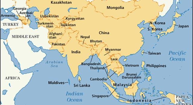 Geografia Pytanie-Ciekawostka: Stolicą którego kraju azjatyckiego jest Pyongyang?
