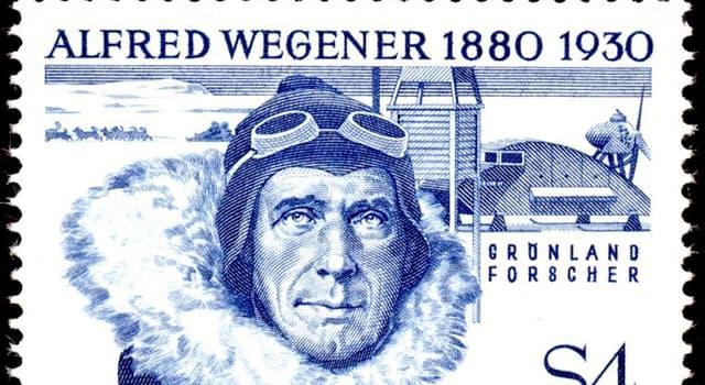 Sociedad Pregunta Trivia: ¿Por cuál de sus obras es más conocido Alfred Wegener?
