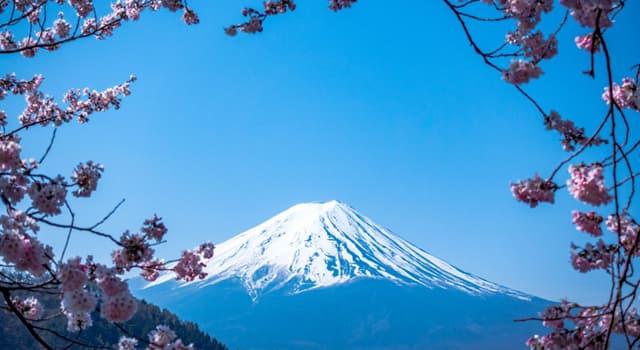 Geografía Pregunta Trivia: ¿Qué característica especial posee el famoso monte Fuji de Japón?