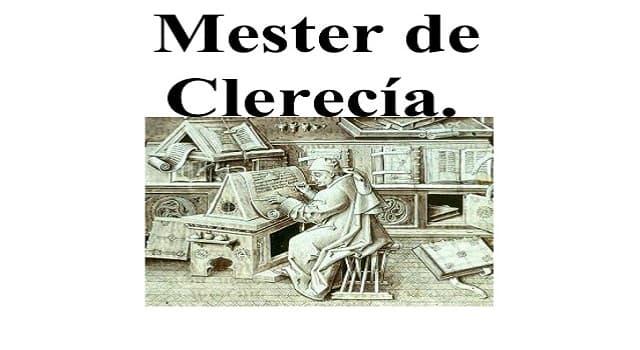 Cultura Pregunta Trivia: ¿Qué significa mester de clerecía?