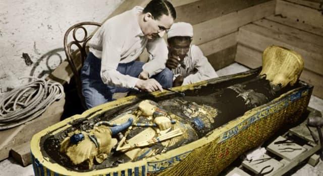 Historia Pregunta Trivia: ¿Quién descubrió la tumba del faraón egipcio Tutankamón?