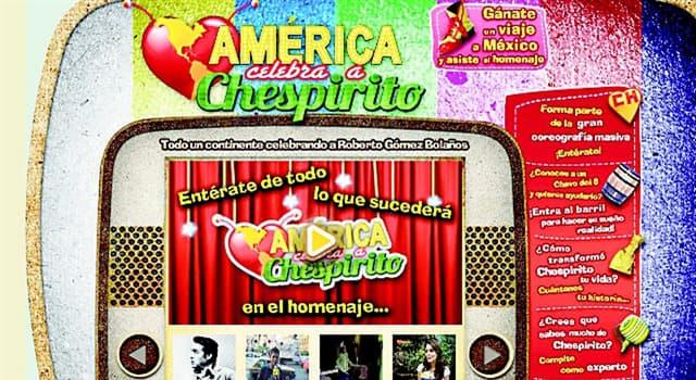 """Sociedad Pregunta Trivia: ¿Quién resultó ganador del concurso de trivia en el programa """"América celebra a Chespirito"""" del año 2012?"""