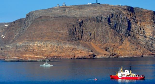 Geographie Wissensfrage: Auf welche Insel erheben sowohl Kanada als auch Dänemark Anspruch?