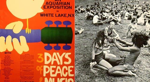 Kultur Wissensfrage: Welcher (welche) Künstler hat (oder haben) beim Woodstock-Festival 1969 die meisten Geld verdient?