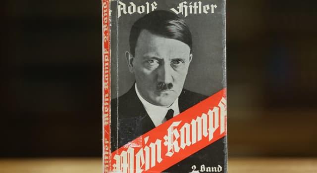 """historia Pytanie-Ciekawostka: Kto był jedynym Amerykaninem, który został wspomniany w książce """"Mein Kampf""""?"""