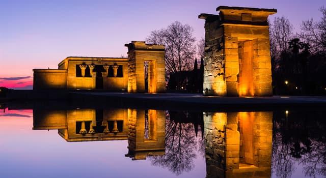Historia Pregunta Trivia: ¿Cómo se llama el templo que Egipto le regaló a España por ayudar a salvar los templos de Nubia?