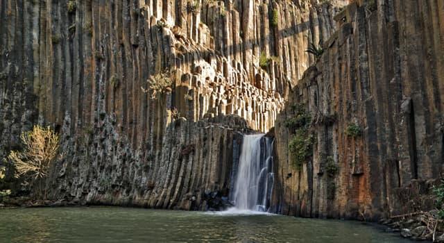 Geografía Pregunta Trivia: ¿Cómo se llaman las formaciones rocosas que aparecen en la imagen?