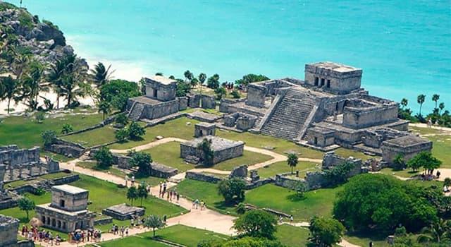 Cultura Pregunta Trivia: ¿Cómo se llaman las ruinas mayas que se muestran en la imagen?