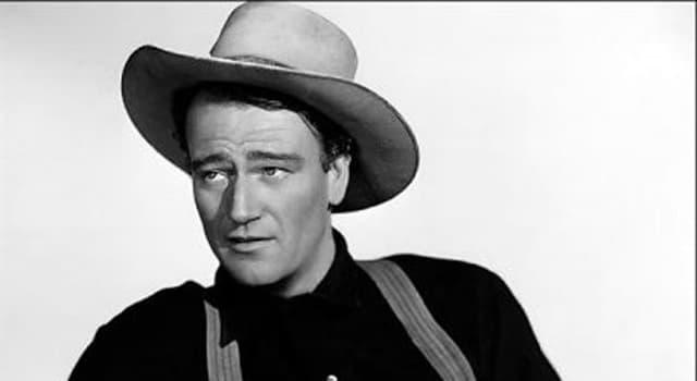 Películas Pregunta Trivia: ¿Cuál era el verdadero nombre del actor John Wayne?