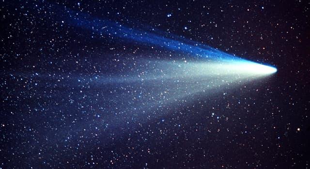 Historia Pregunta Trivia: ¿Cuál es el cometa del que se pudo obtener la mejor información?