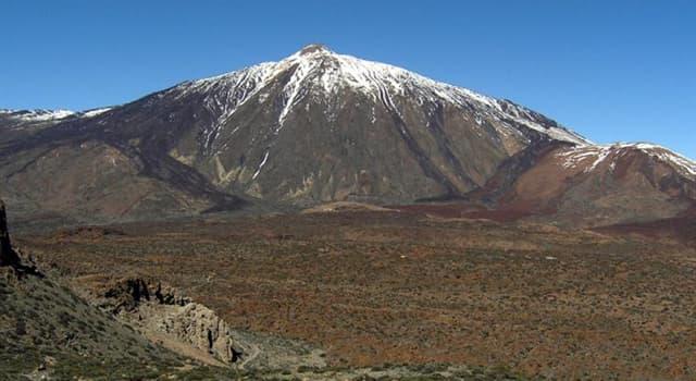 Geografía Pregunta Trivia: ¿Cuál es el pico más alto de España?