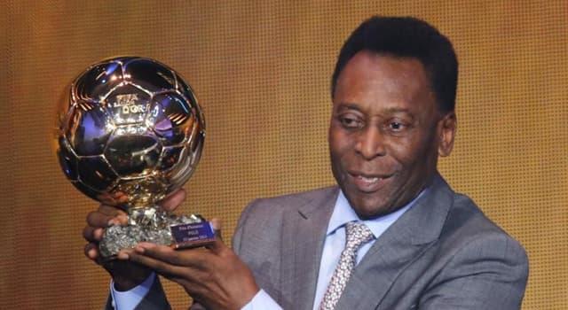 Deporte Pregunta Trivia: ¿Cuál es el verdadero nombre del jugador brasilero Pelé?