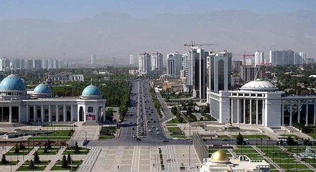 Geografía Pregunta Trivia: ¿Cuál es la capital de Turkmenistán?