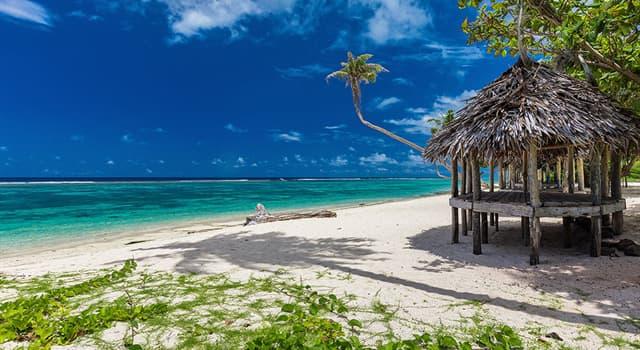 Geografía Pregunta Trivia: ¿Cuál es la capital del Estado Independiente de Samoa?