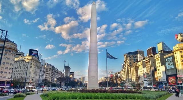 Geografía Pregunta Trivia: ¿Cuál es la Latitud aproximada de Buenos Aires?