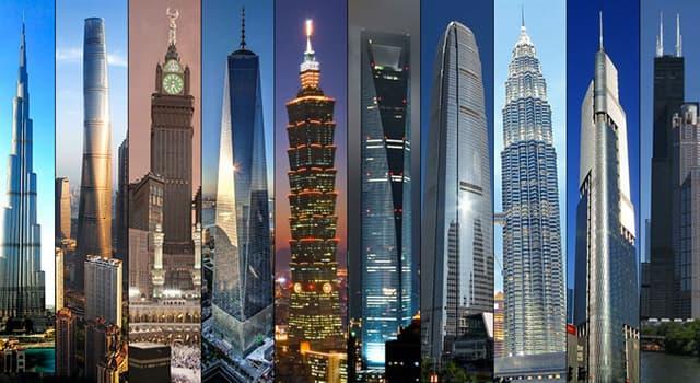 Cultura Pregunta Trivia: ¿Cuánto mide el edificio más alto del mundo?