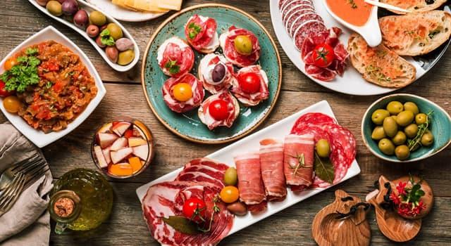 Cultura Pregunta Trivia: ¿Cuál de las siguientes comidas tradicionales españolas es una ensalada?