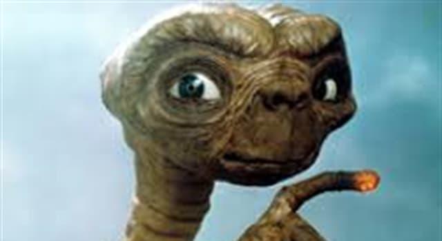 Películas Pregunta Trivia: ¿De qué planeta o galaxia provenía el personaje extraterrestre del film E.T. de Spielberg?
