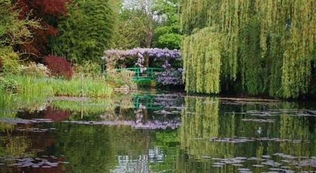 Cultura Pregunta Trivia: ¿Dónde habría encontrado Monet su inspiración para desarrollar su jardín de los nenúfares?