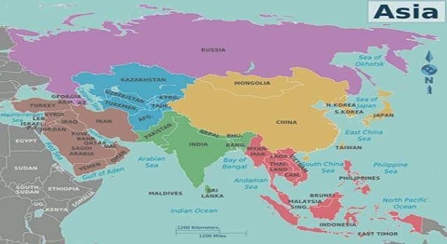 Geografía Pregunta Trivia: ¿Dónde se localiza la región de Manchuria?