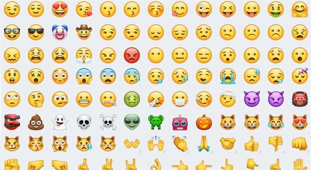 """Sociedad Pregunta Trivia: ¿En qué año se creó el primer """"emoji""""?"""