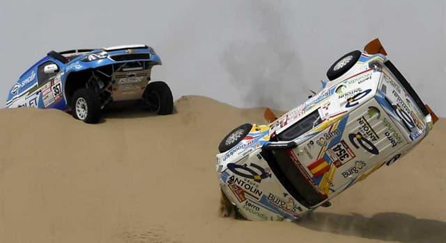 Deporte Pregunta Trivia: ¿En qué año se suspendió la realización del rally París-Dakar, por amenazas?